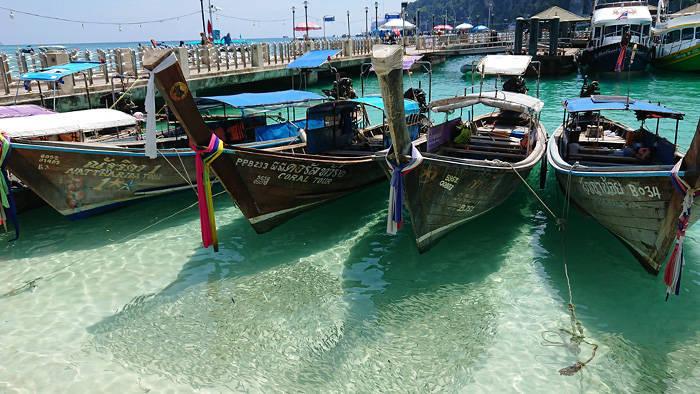 ピピ島 トンサイ港