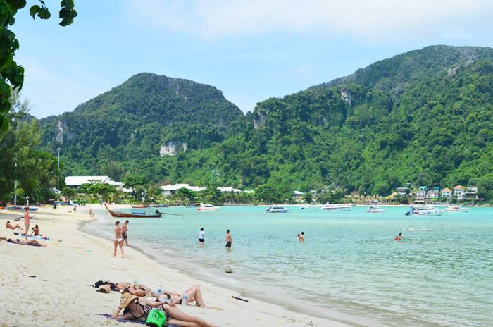 ピピ・ドン島のローダラムビーチの紹介