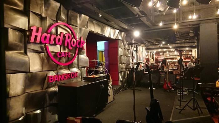 バンコクのハードロックカフェの紹介