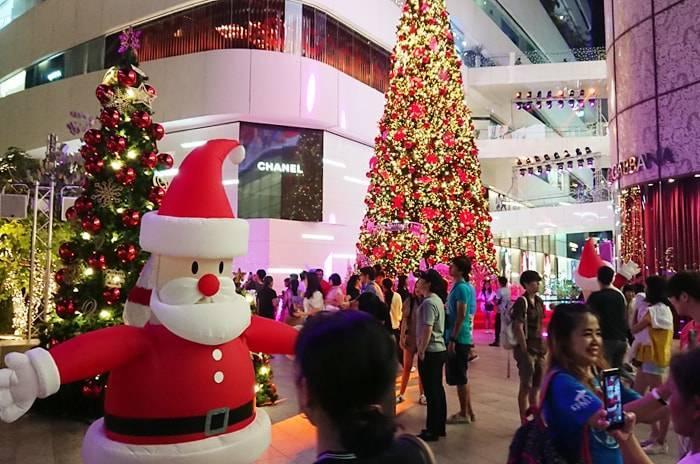 バンコクのクリスマスシーズンの紹介