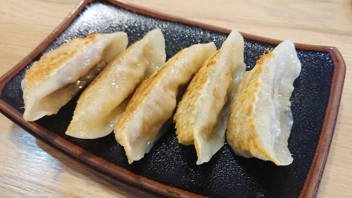 バンコク つけ麺城の餃子