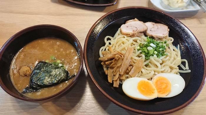 バンコク つけ麺城のつけ麺