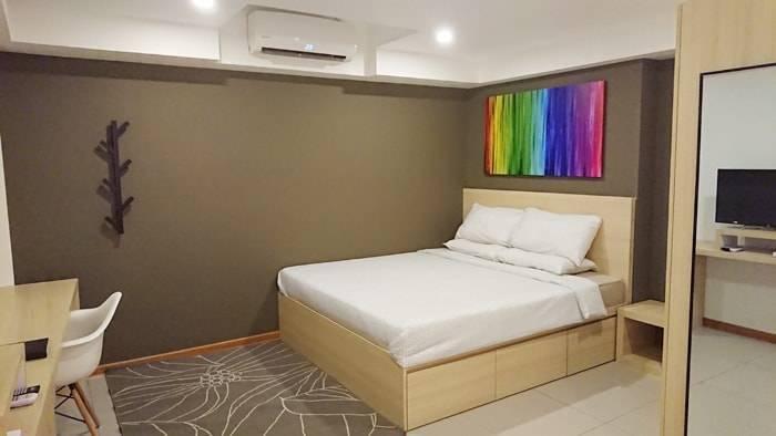 ヤンゴンの民泊(airbnb)の料金と部屋の紹介