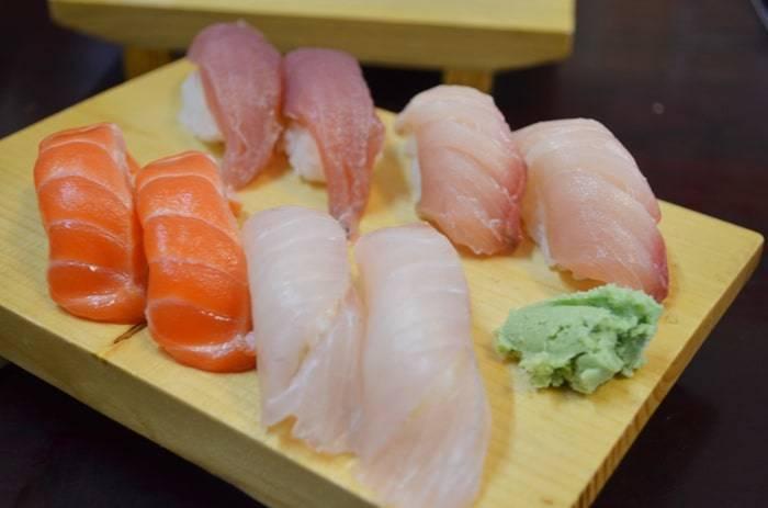 ヤンゴンのおいしい寿司(Oishii Sushi)の紹介