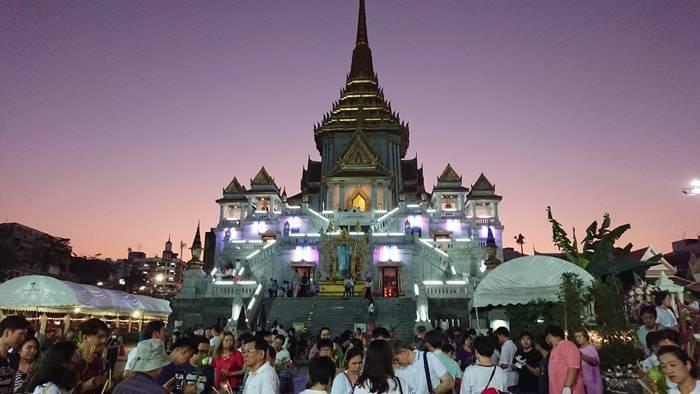 バンコク ヤワラートのワット・トライミット(黄金仏寺院)