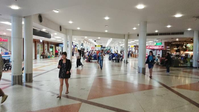 チェンマイ国際空港のロビー