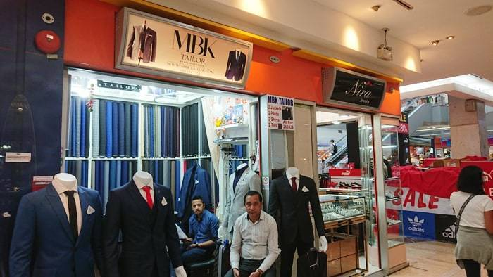 バンコクで安くスーツを買える店の紹介
