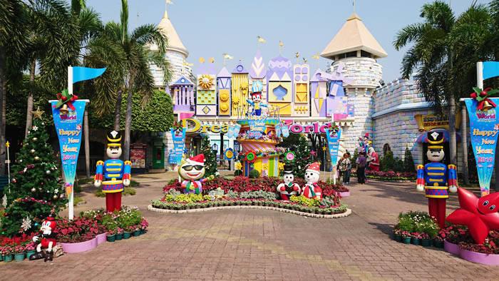 バンコクの遊園地 ドリームワールド bangkok DreamWorld