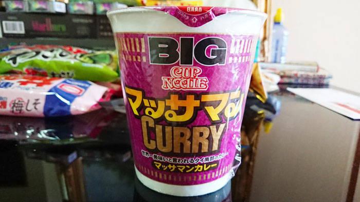 日清カップヌードル マッサマンカレー味