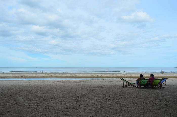ホアヒンのスワンソンビーチ(Suan Son Beach)