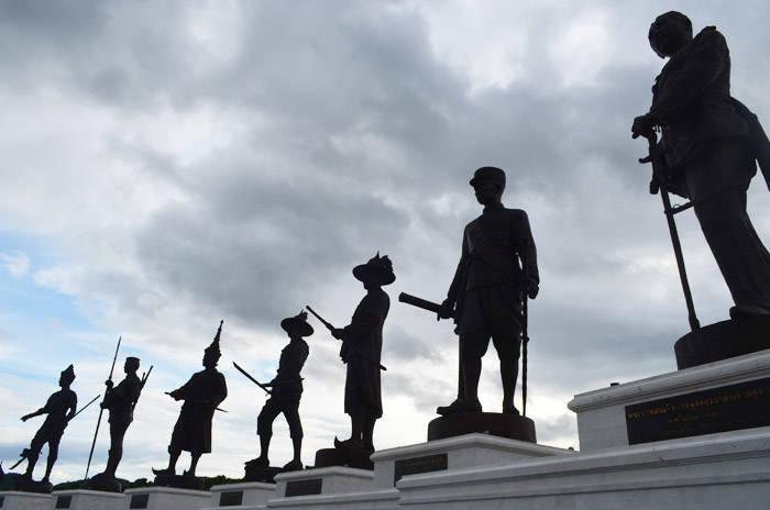 ホアヒン 7 Kings of Siam Statues