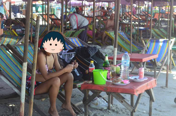 ホアヒンビーチ huahin beach