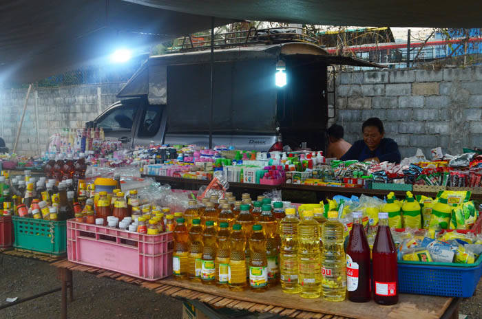 カオヤイのマーケット