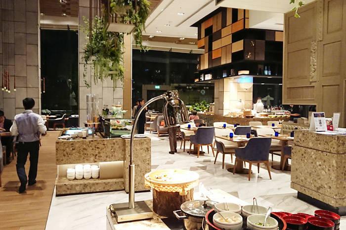 ホテル・ニッコー・バンコクのレストラン オアシス