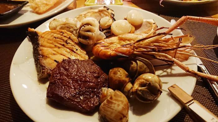 バンコクのディナービュッフェレストラン 100°Eastの紹介