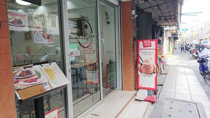 バンコク・サトーンのカフェ G station