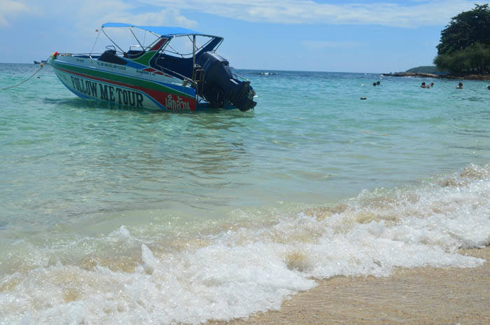 サメット島 アオパイビーチ