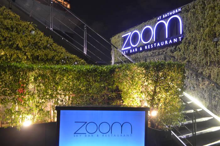 バンコクのルーフトップバー ZOOM