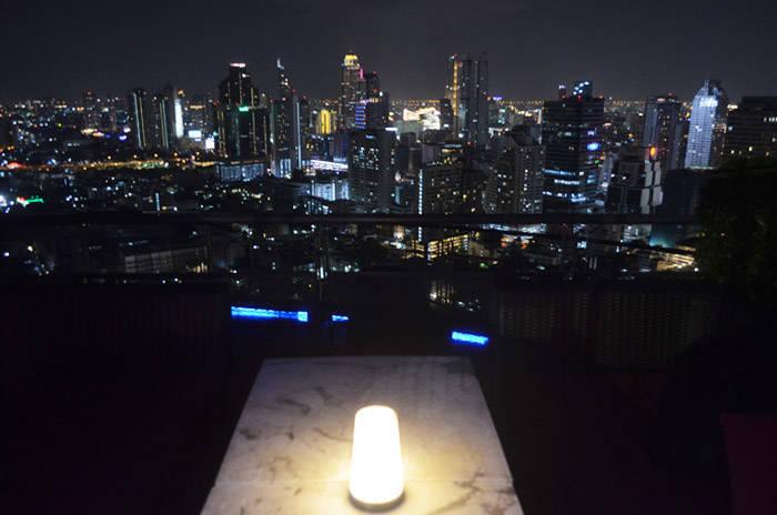 バンコク ZOOMから見る夜景