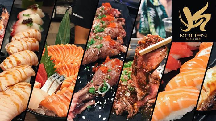 バンコク Kouen Yakiniku Sushi Barの紹介