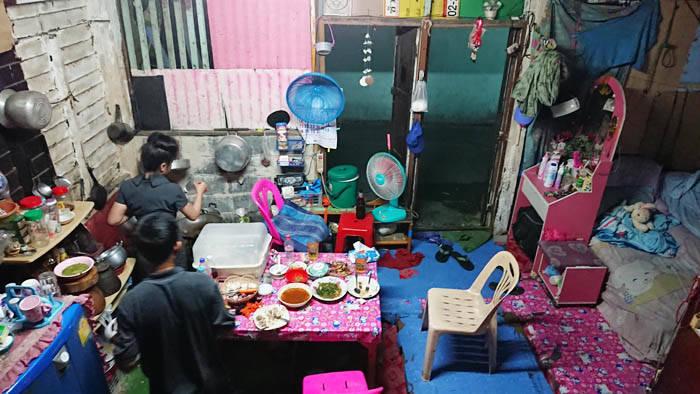 バンコクに住むローカルタイ人の部屋と家賃