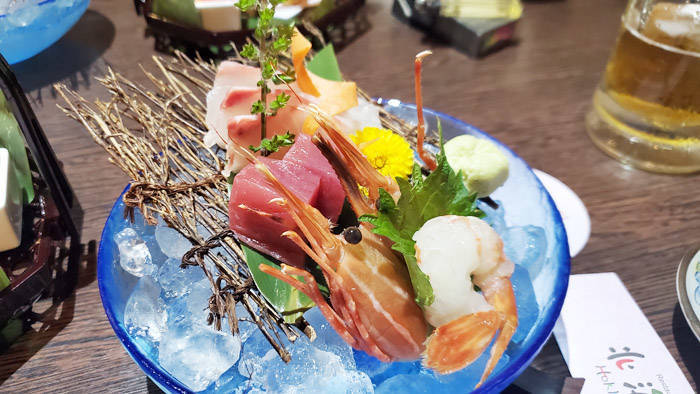バンコク 北海道の刺身