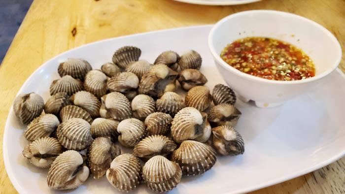 ラン島のタイ料理