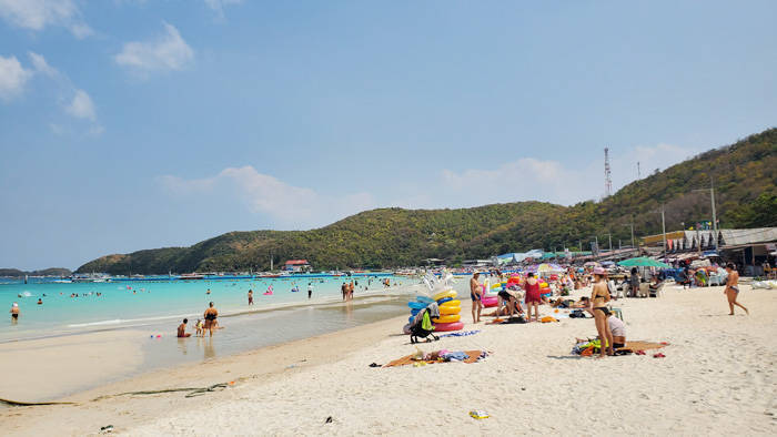 ラン島のターウェンビーチの行き方と紹介