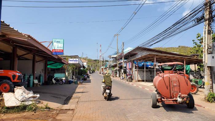 パタヤ ラン島の道