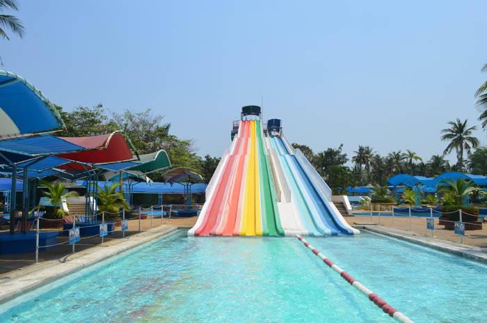 サイアムアメージングパークの超長いスライダー Siam Amazing Park