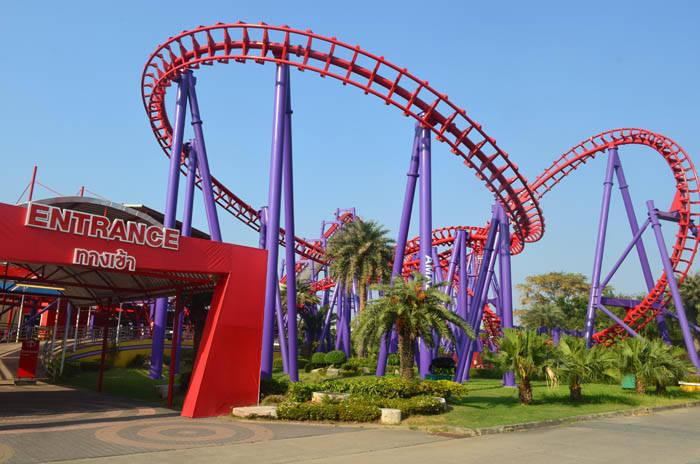 サイアムアメージングパークのジェットコースター Vortex Siam Amazing Park