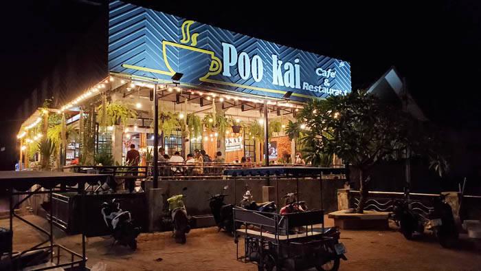 ラン島のカフェ&レストラン POO KAI CAFE & RESTAURANT