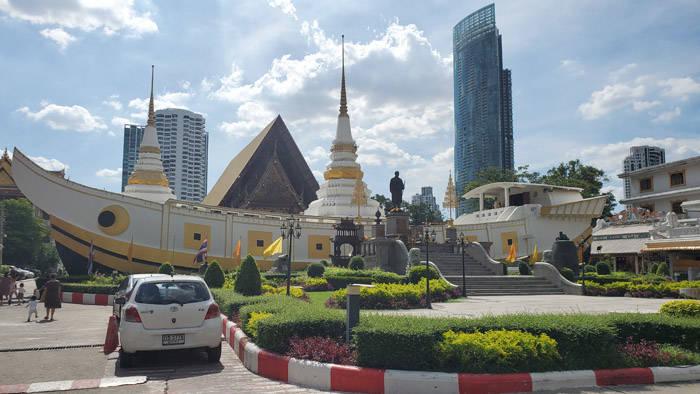 バンコクの船のお寺@ワット・ヤンナワー