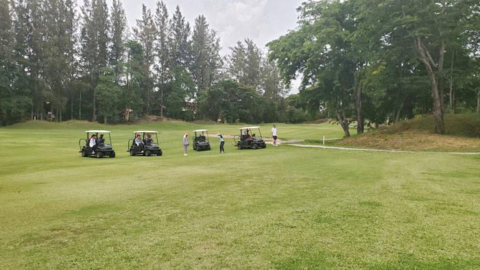 ボナンザのゴルフコースの紹介