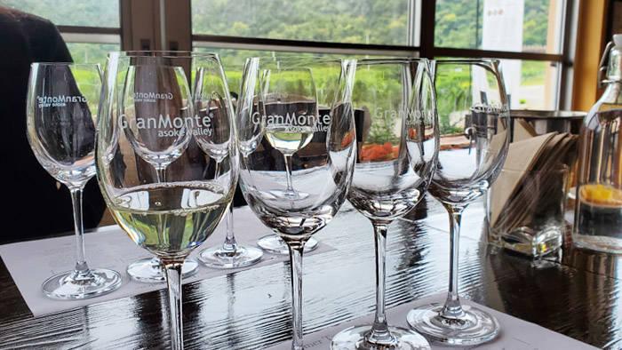 グランモンテ(Granmonte)のワイナリーツアー ワインのテイスティング