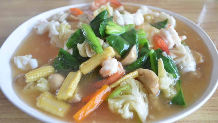 クラビの人気レストラン ワンサイシーフード(wangsai seafood restaurant)