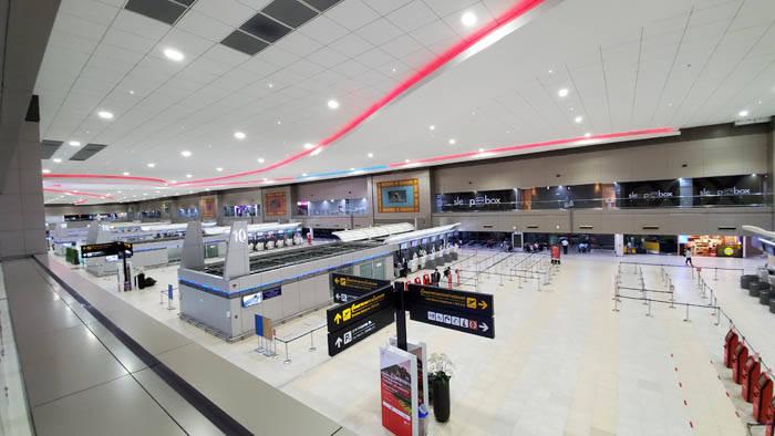 コロナ渦中のドンムアン空港