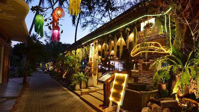 タオ島 ACTWO Restaurantの外観