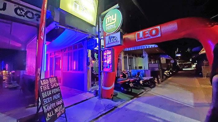 タオ島のLeo Beach Bar