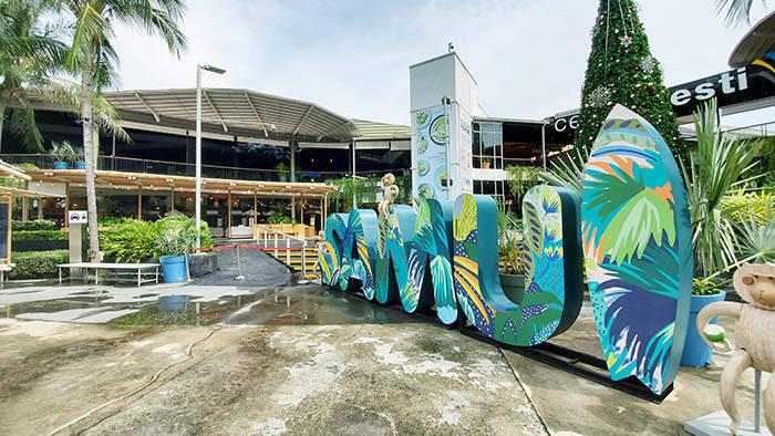 サムイ島のセントラル・フェスティバル・サムイの外観