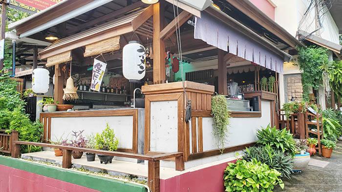 サムイ島のBenzo Sushiの外観