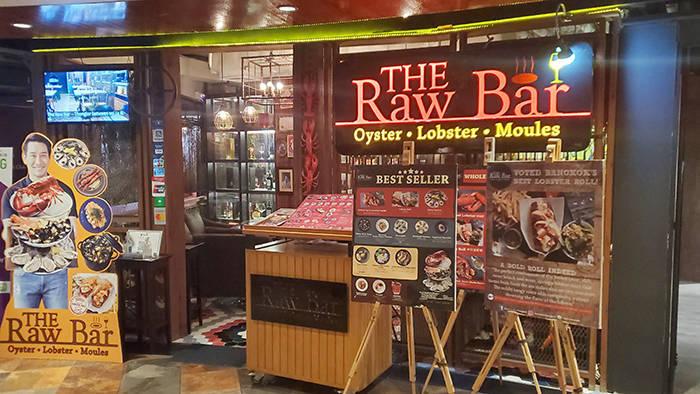 バンコク チットロムのThe Raw Bar