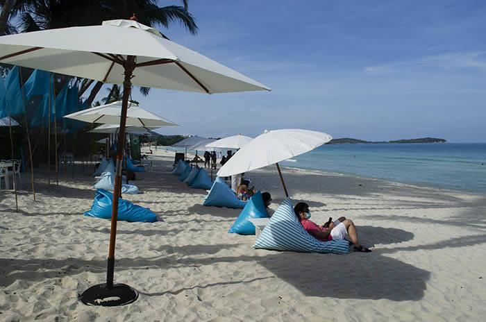 サムイ島 チャウエンビーチ