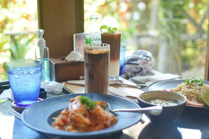 バンコクのカフェ Baan Suan Sathorn