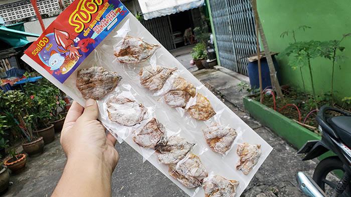 タイ・バンコクで買える美味しいスルメの紹介
