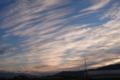 12/05(月) 【愛媛県伊予郡松前町横田】 「朝焼け」