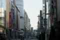 01/22(日)【東京都中央区銀座】  「銀座」