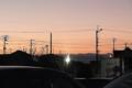 01/25(水)【愛媛県松山市西垣生町】  「夕景」