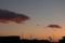 02/13(月)【愛媛県伊予郡松前町西古泉】  「夕景」