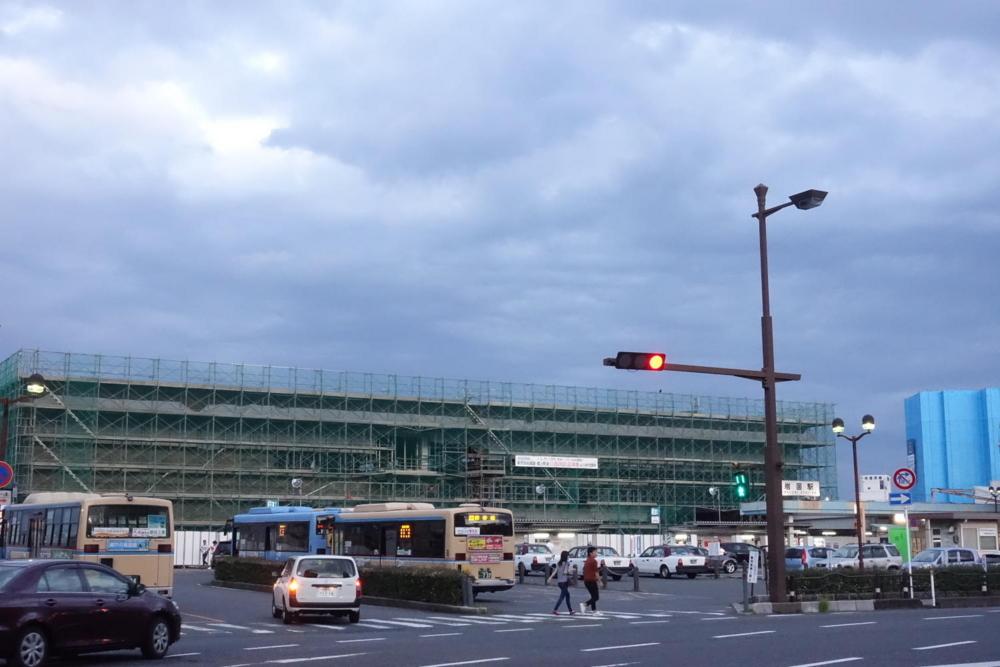 08//25(金)【山口県岩国市麻里布町】  「建設中」  Rx